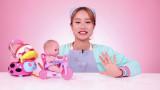 제 16화   아기 인형과 식사 예절 배우기 놀이 / 공룡 로봇 장난감 놀이