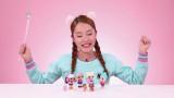 제 2화   거품으로 케이크와 아이스크림 만들기 / 캐릭터 무선 조종 몬스터 볼 장난감 놀이