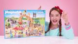 제 5화   대형 동물원 장난감 블록 놀이 / 최강 팽이! 밤새서 돌아가는 팽이 장난감 놀이
