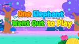 One Elephant When Out to Play