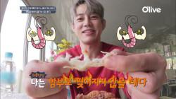 [블라디보스토크] 먹테이, 곰 새우 1kg 먹방