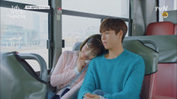 '꽁냥꽁냥' 이현우♥조이, 버스 안에서 봄날의 데이트 (ft.한다요?)