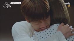 ′다 나 때문이야′ 이현우, 조이 품에 안겨 ′눈물 펑펑′