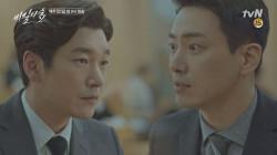 이준혁, 조승우에게 이경영 정보 흘리며 거래 제안 ′내 영장부터 철회해′