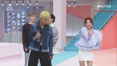 [미공개] 설레는 덩치 차이 산다라박 & 송민호 럽미 댄스