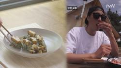 [미방분] 로컬푸드 해먹는 피실험자들♪ #전복내장주먹밥 #딱새우