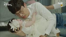 아빠들이 슈퍼맨이 되는 순간! (+감격스러운 헌이 한마디)