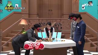 손끝에 모든 감각을 집중시키는 요염(?) 김동현