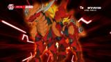 키리온! 마그마 레이저 공격!