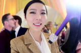 나영, 파리의 로저비비에 행사에서 만난 롤모델 이네스와의 팬미팅 #성공적