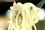 고추오일드레싱을 사용한 하얀 골뱅이 샐러드 @연남동