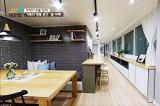 원룸의 단점을 장점으로! ′ㄷ자형′ 홈카페주방!