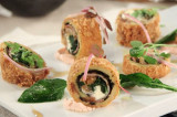 샤르르 녹은 크림치즈가 핵꿀맛! 송훈 셰프의 ′식빵롤튀김′